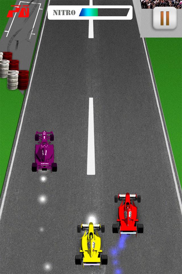Screenshot Nitro F1 Race – Top Speed Edition