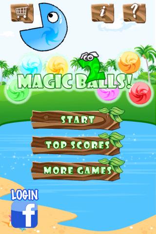 Screenshot Magic Balls 2 Lite