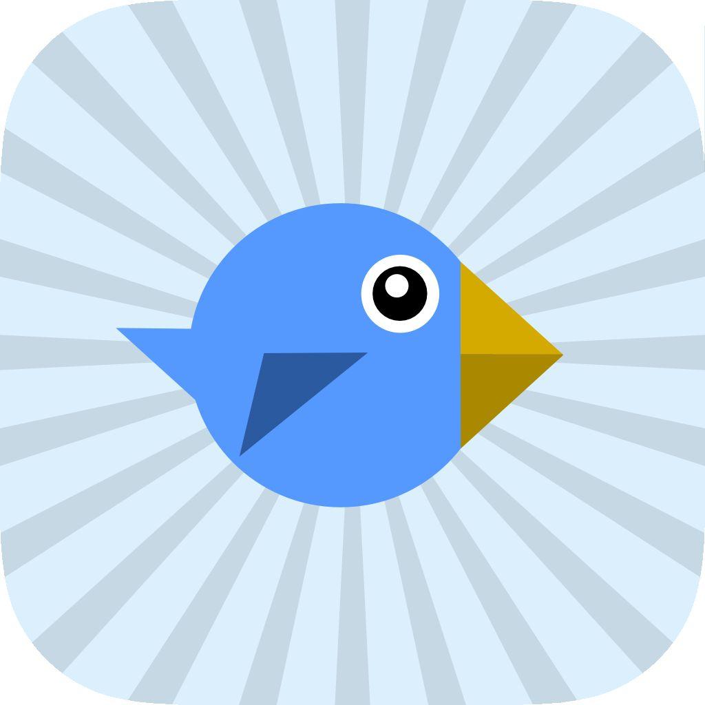 Bouncy Blue Bird - Flappy Wings Fly
